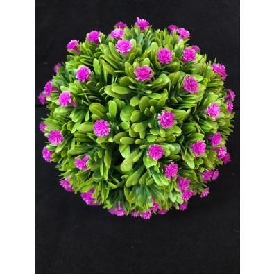 Esfera con mini flores lila