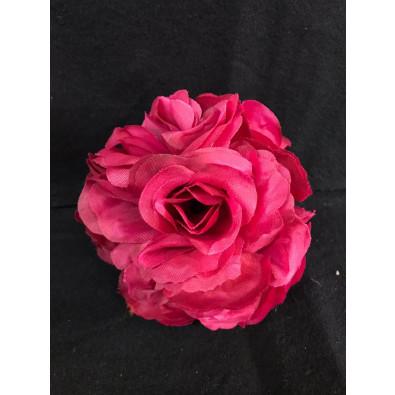 Esfera de Flor Chica Tinto