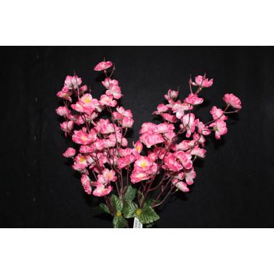 Ramo flor de durazno mediano rosa matizado