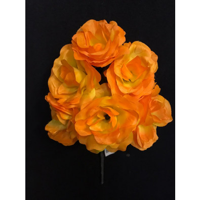 Docena de rosas amarillo