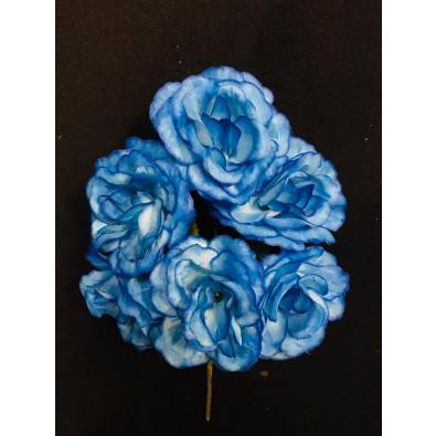 Docena de rosa azul