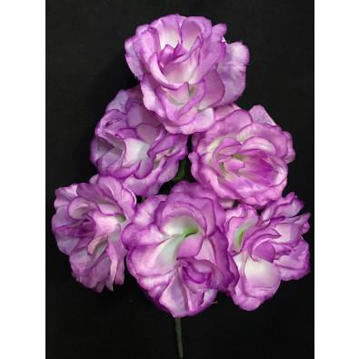 Docena de rosas lila