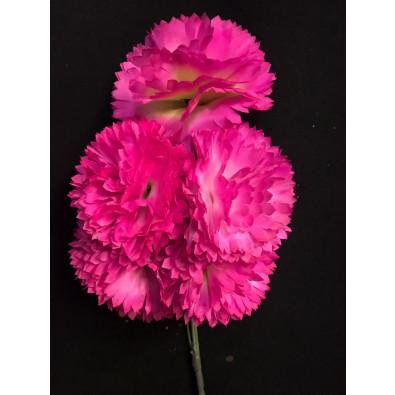 Docena de clavel rosa mexicano