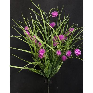 Follaje  mixto con espiha verde lila