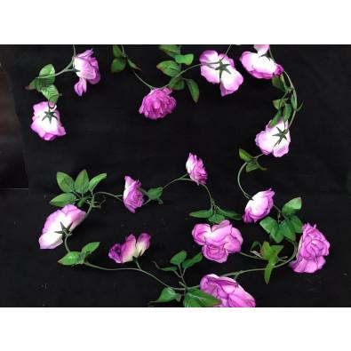 Guía Rosa Grande Lila- Blanco